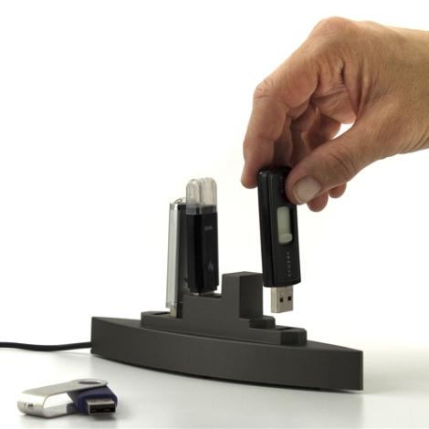 Battleship USB Hub with 5 Ports